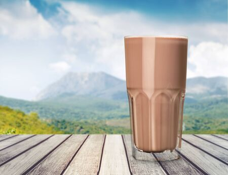 Milkshake. Stockfoto