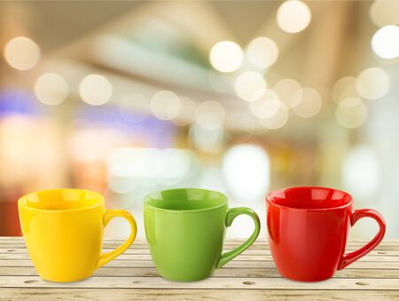 coffee cups: Coffee Cups. Stock Photo