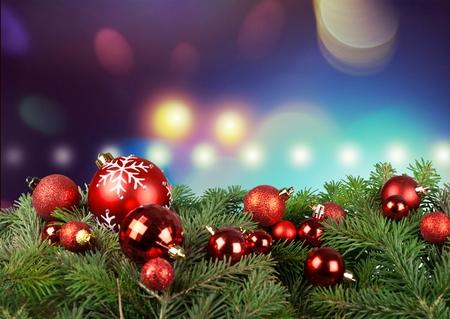 adornos navide�os: Navidad de fondo. Foto de archivo