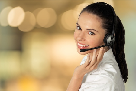 Customer Service Representative. Stock Photo