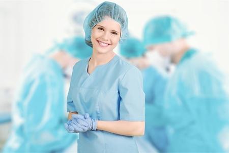 nurse: Enfermera.