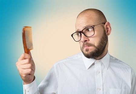 testosterone: Hair problem.