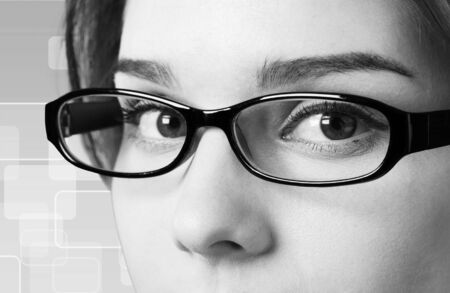 glasses eye: Eyewear.