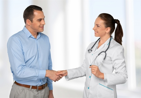 doctor patient: Doctor and Patient.
