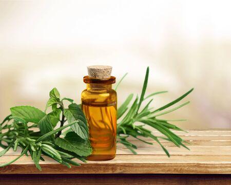 rosemary flower: Herbal oil.