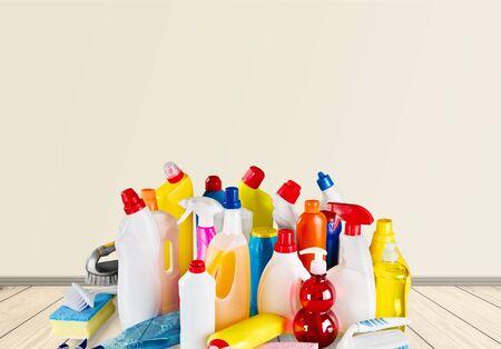envases de plástico: Contenedores de plástico. Foto de archivo