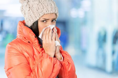 cold woman: Cold And Flu.