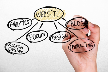 flow chart: Flow Chart. Stock Photo