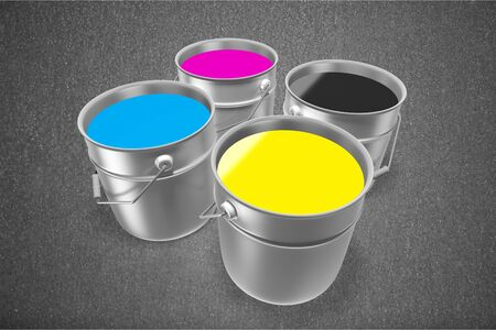 descriptive colors: CMYK.