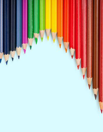 color pencils: Color pencils. Stock Photo