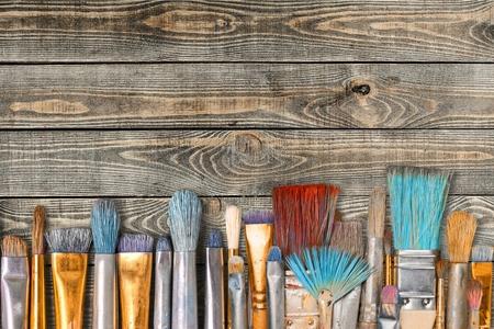 paintbrushes: Paintbrushes.