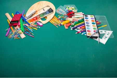 teaching crayons: School supplies.
