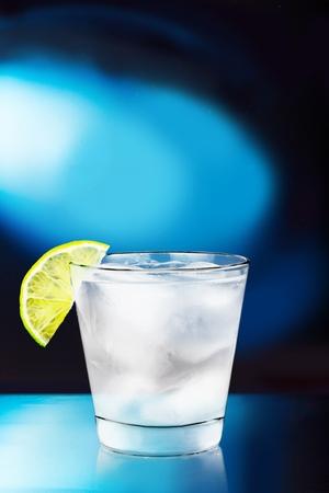 glass table: Lemonade.