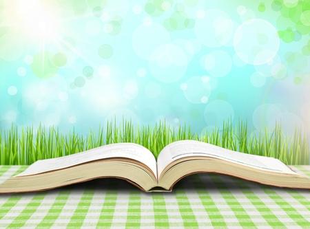 book open: Book.