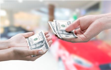 Allowance. Stockfoto