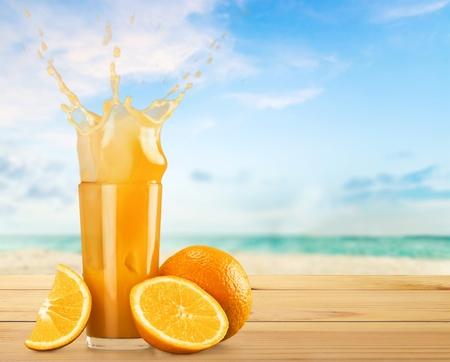 succo di frutta: Succo d'arancia.
