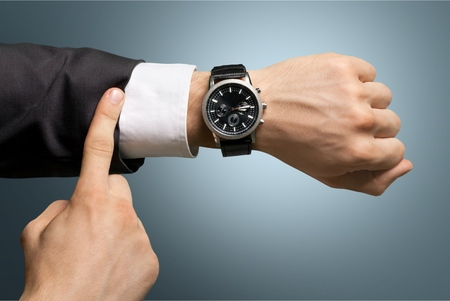 Time. Standard-Bild