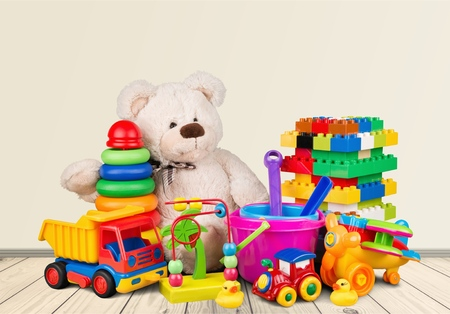 plastic toys: Toys. Stock Photo