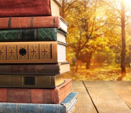 background designs: Books.
