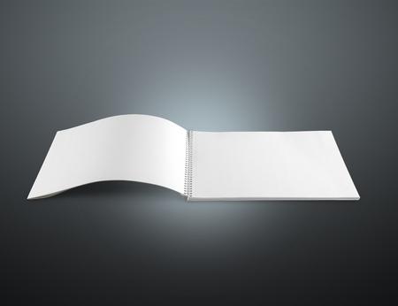 Blank booklet.