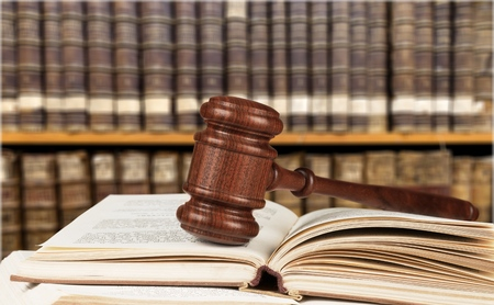 adjournment: Law Book.