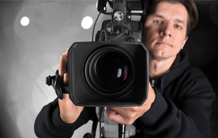 camera operator: Video production.