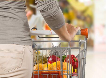 Compras del supermercado.