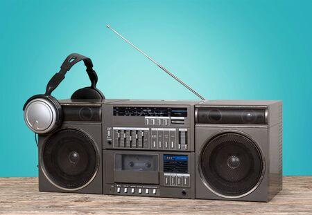 equipo de sonido: equipo de m�sica retro.