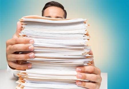 pile papier: Paper Stack.