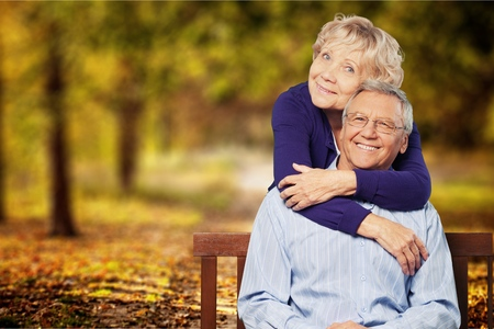 Senior Adults. Stock Photo