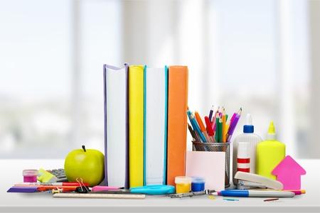 fournitures scolaires: Fournitures scolaires.