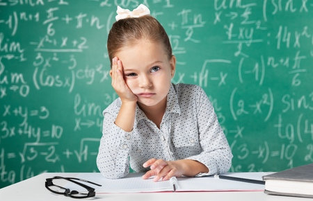 young lady: Student. Stock Photo