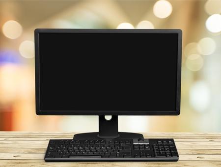 computer monitor: Computer.
