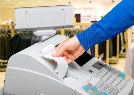 maquina registradora: Caja registradora.