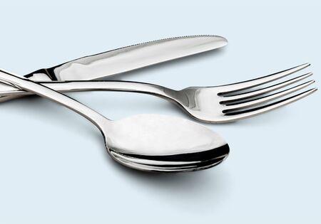 silverware: Cubiertos. Foto de archivo