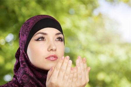 femmes muslim: Musulmane.