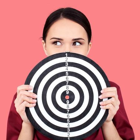 shooting target: Marketing Target.