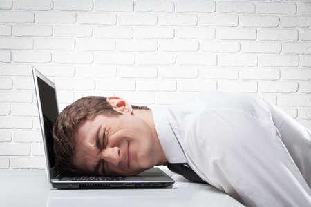 burdensome: Stress. Stock Photo