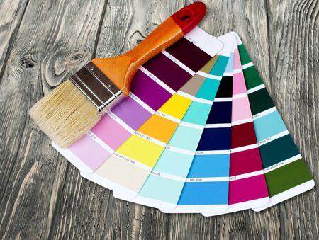 color swatch: Color Swatch. Stock Photo