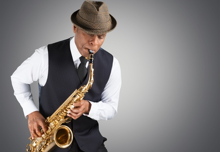 african sax: Jazz music.