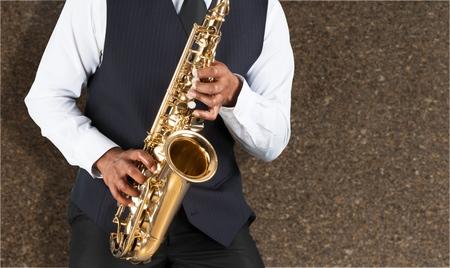 african sax: Jazz saxophone.