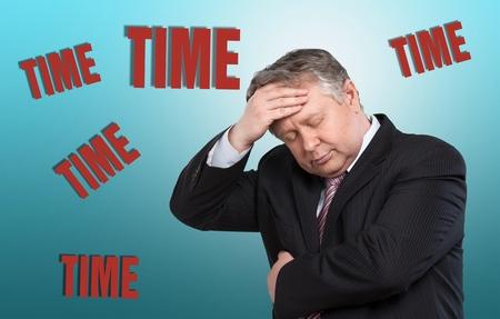 timing: Businessman timing.