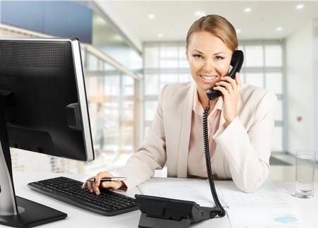 to the secretary: Telephone Women.