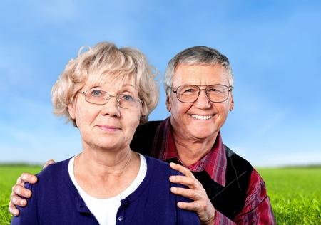 adults: Senior Adults. Stock Photo
