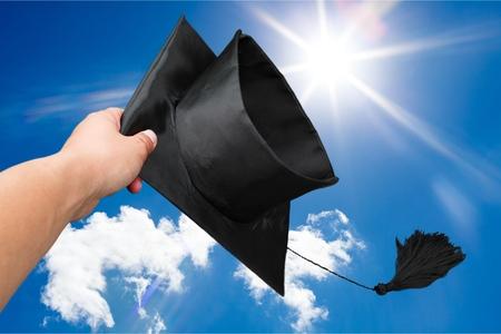 graduation cap: Graduation.