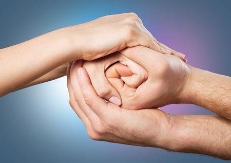 Sozialhilfe. Standard-Bild