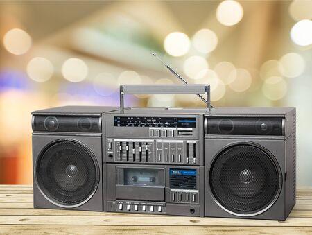 bakelite: Retro Tape Player.