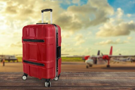with bag: Luggage.