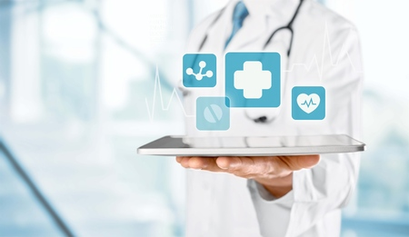 doctoras: Doctor.  Foto de archivo