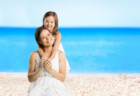 child sport: On the beach.